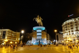 "Skopje ""by night"""