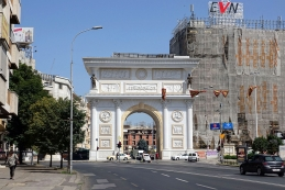 Skopje podnevi