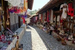 Bazar v mestu Krujë