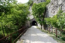 Trasa nekdanje železniške proge