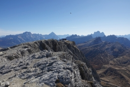 Punta Sorapiss, Antelao, Monte Pelmo