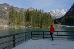 Ob Planšarskem jezeru