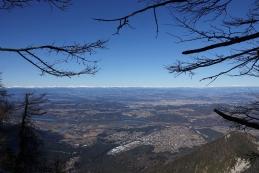 Pogled z grebena