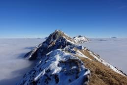 ...pogled na greben...