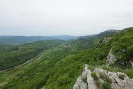 Pogled z razgledne točke - Zazid