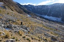 Proti planini Zgornje Brdo