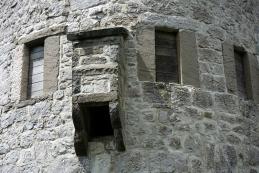 Detajl stolpa