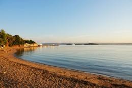 Plaža v Tkonu