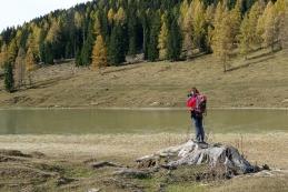 Foto ob Brškem jezeru