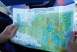 Zemljevid delte