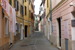 Ulica v starem mestnem jedru Izole