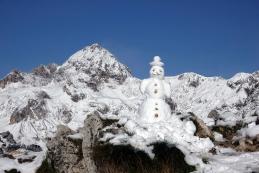Snežak in Triglav