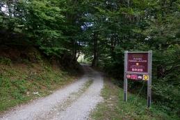 Izhodišče na planini Podkuk