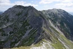 Pogled na greben vse do Vogla