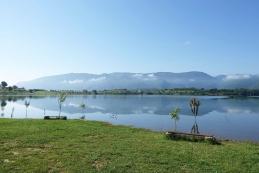 Jutro na obali Ramskega jezera