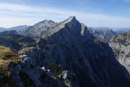 Pogled z vrha Velike Zelenice