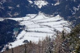 Zasnežena dolina
