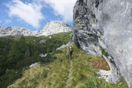 Pod strmo steno na obronku nekdanje planine Ovčarije