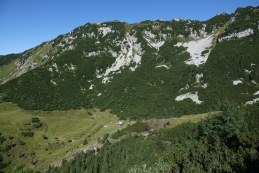 Planina Koren in greben Jež-a