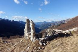 Pogled s planine proti Reziji