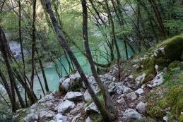 Zeleno - modro jezero