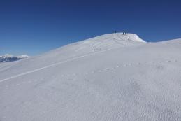 Najprej na Gladki vrh...