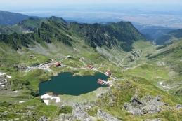 Jezero in Transfagarasan
