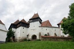 Viscri - utrjena cerkev