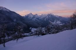 Jutro nad Srednjim vrhom